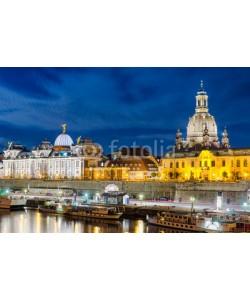Mapics, Dresden bei Nacht, Deutschland