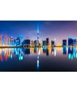 MasterLu, Dubai skyline at dusk, UAE.