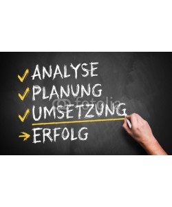 fotogestoeber, Analyse, Planung, Umsetzung = Erfolg