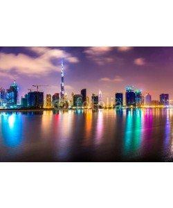 MasterLu, Dubai skyline at dusk