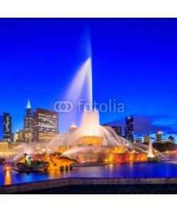 f11photo, Buckingham fountain at twilight