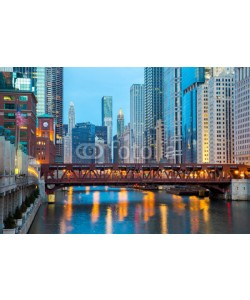 vichie81, Chicago downtown and River