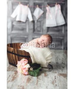 diluart, bebe en la sesta,ropa colgada