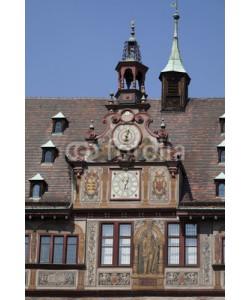 Blickfang, Tübingen Rathaus Detail Uhr