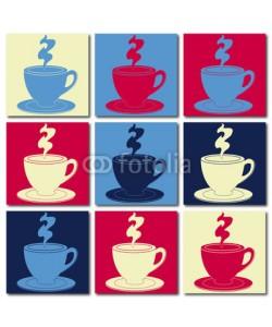 brimeux, Bol de café multicolore