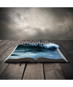 kevron2001, Ocean on an open book