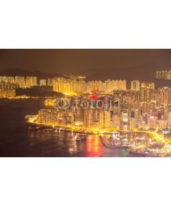 vichie81, Hong Kong Skyline night