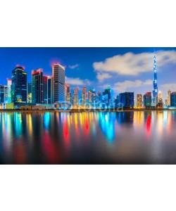 MasterLu, Dubai skyline at dusk, Dubai.