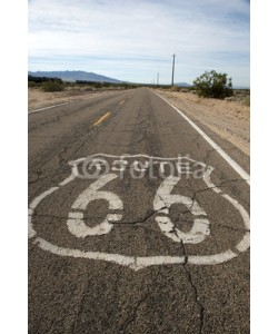 forcdan, Route 66 sign