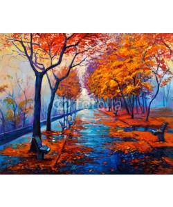 Boyan Dimitrov, Autumn landscape
