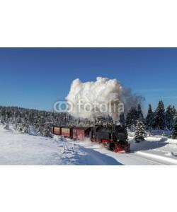Christian Spiller, Brockenbahn der Harzer Schmalspurbahnen im Winter