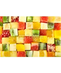 Africa Studio, Sliced fruits background