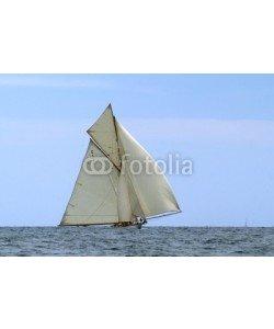 Donnerbold, klassische Yacht unter Vollzeug