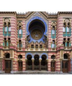 Blickfang, Jubiläumssynagoge Prag