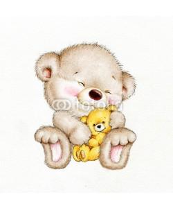 ciumac, Teddy bear with baby bear