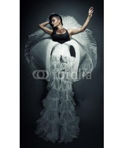alexbutscom, transvestite in beautiful white dress