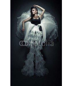 alexbutscom, transvestite in white dress