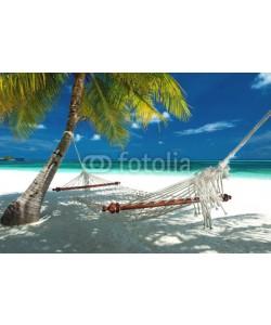 M.Rosenwirth, Hängematte am Strand auf den Malediven
