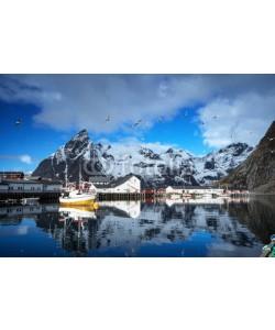 Iakov Kalinin, spring sunset - Reine, Lofoten islands, Norway