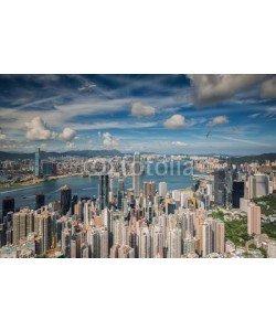 anekoho, Airplane over Hongkong