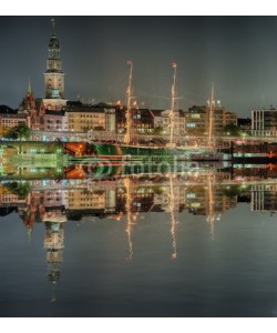 Blickfang, Hamburg Hafen Nacht