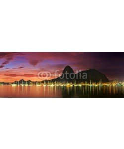 f11photo, Sunrise view of Copacabana and mountain Sugar Loaf