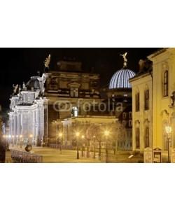 Blickfang, Brühler Terassen  Dresden HDR bei Nacht