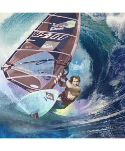 Peter Sander, Windsurfer RobbyNaish
