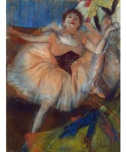 Edgar Degas, Seated Dancer, 1879-80 (pastel on cardboard)