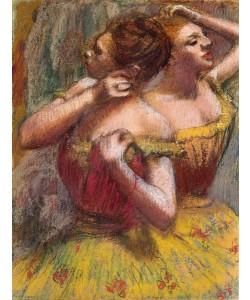 Edgar Degas, Two Dancers (pastel on paper)