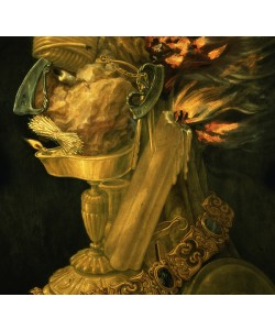 Giuseppe Arcimboldo, Fire, 1566 (oil on wood) (detail of 66136)