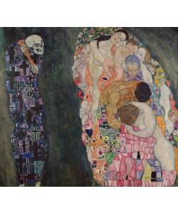 Gustav Klimt, Death and Life, c.1911 (oil on canvas)