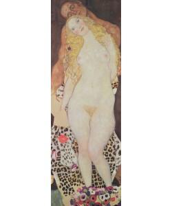 Gustav Klimt, Adam and Eve, 1917-18