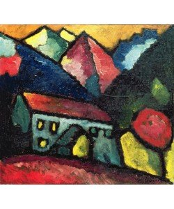 Alexej von Jawlensky, A House in the Mountains, c.1912 (oil on canvas)