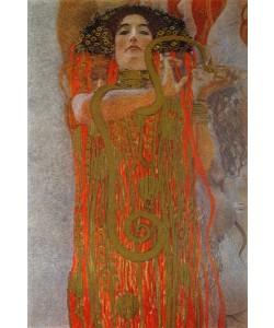 Gustav Klimt, Hygieia, 1900-7 (detail from Medicine)