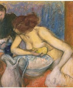Edgar Degas, The Toilet, 1897 (pastel)