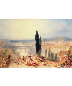 Joseph Mallord William Turner, Florence from near San Miniato, 1828
