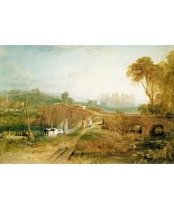 Joseph Mallord William Turner, Bodiam Castle, Sussex (pencil & w/c with gum arabic on paper)