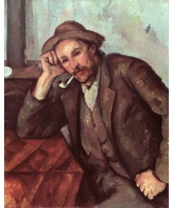 Paul Cézanne, The Smoker, 1891-92 (oil on canvas)