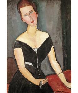 Amedeo Modigliani, Madame G. van Muyden, 1917 (oil on canvas)