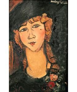 Amedeo Modigliani, Lolotte, 1917 (oil on canvas)