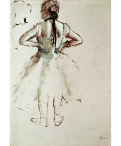 Edgar Degas, Dancer viewed from the back