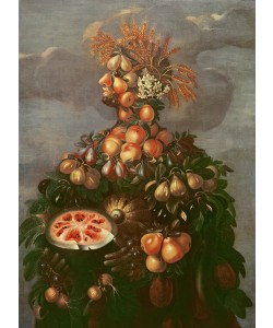 Giuseppe Arcimboldo, Summer (oil on canvas)