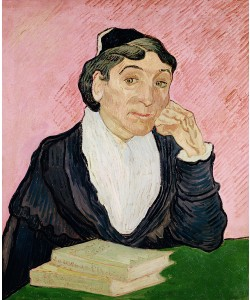 Vincent van Gogh, The woman from Arles, 1890 (oil on canvas)