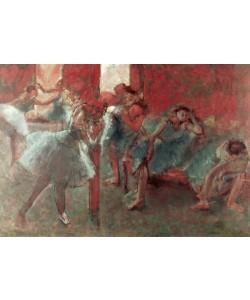 Edgar Degas, Dancers at Rehearsal, 1895-98 (pastel on paper)