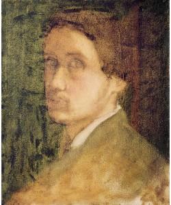 Edgar Degas, Self Portrait, c.1852 (pastel on paper)