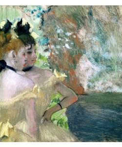 Edgar Degas, Dancers in the Wings (pastel on paper)
