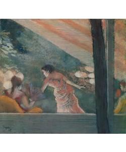 Edgar Degas, Cafe Concert at the Ambassadeurs, 1885 (pastel on paper)
