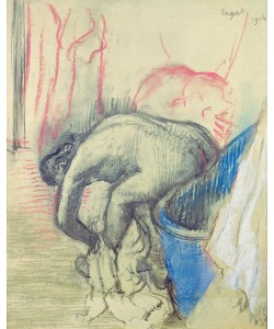 Edgar Degas, After the Bath, 1903 (pastel on paper)
