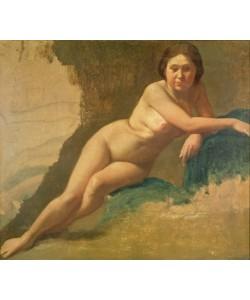 Edgar Degas, Nude Study, c.1858-60 (oil on canvas)